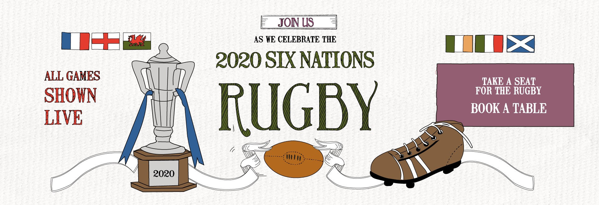 6 Nations Live at Fitzrovia