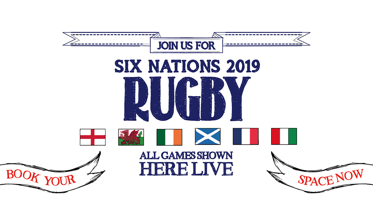 Watch the 6 Nations at The Crown & Sceptre in London