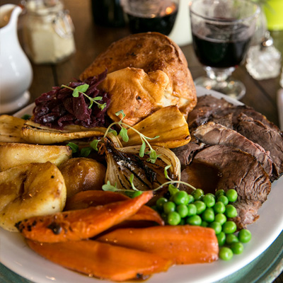 Quality Sunday food at The Crown & Sceptre