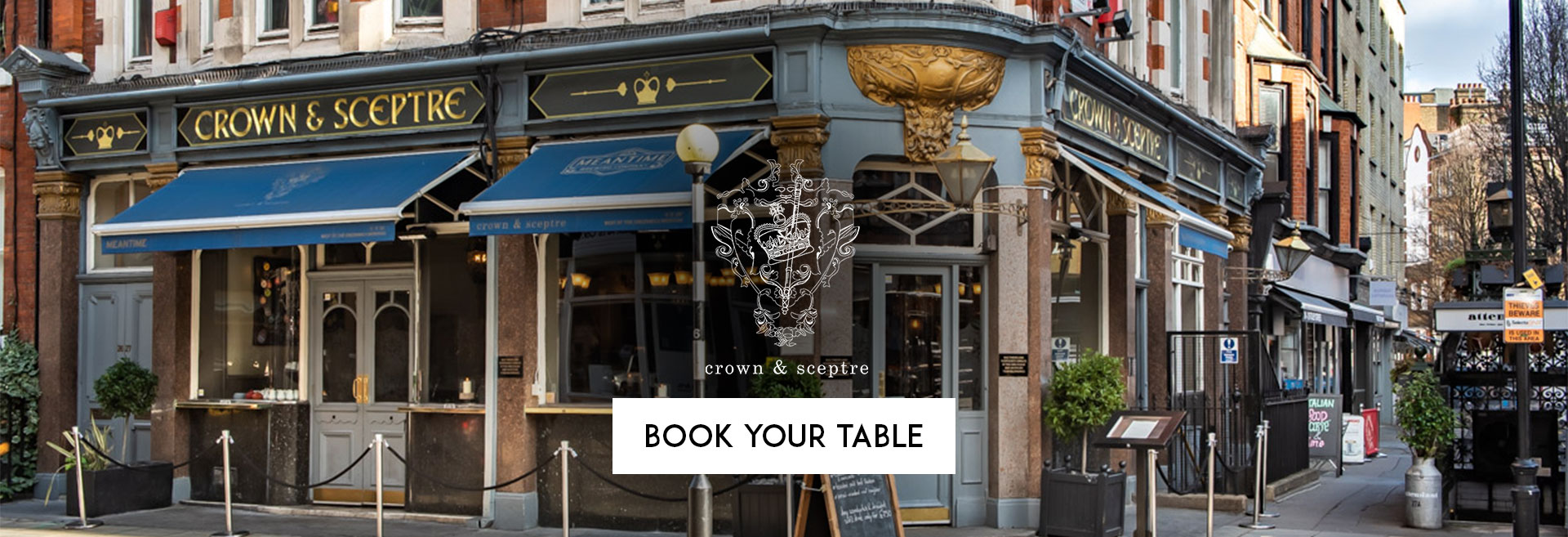 Book Your Table The Crown & Sceptre